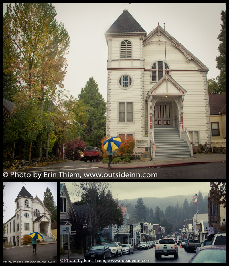 Nevada City Methodist Church, The Christmas Card movie