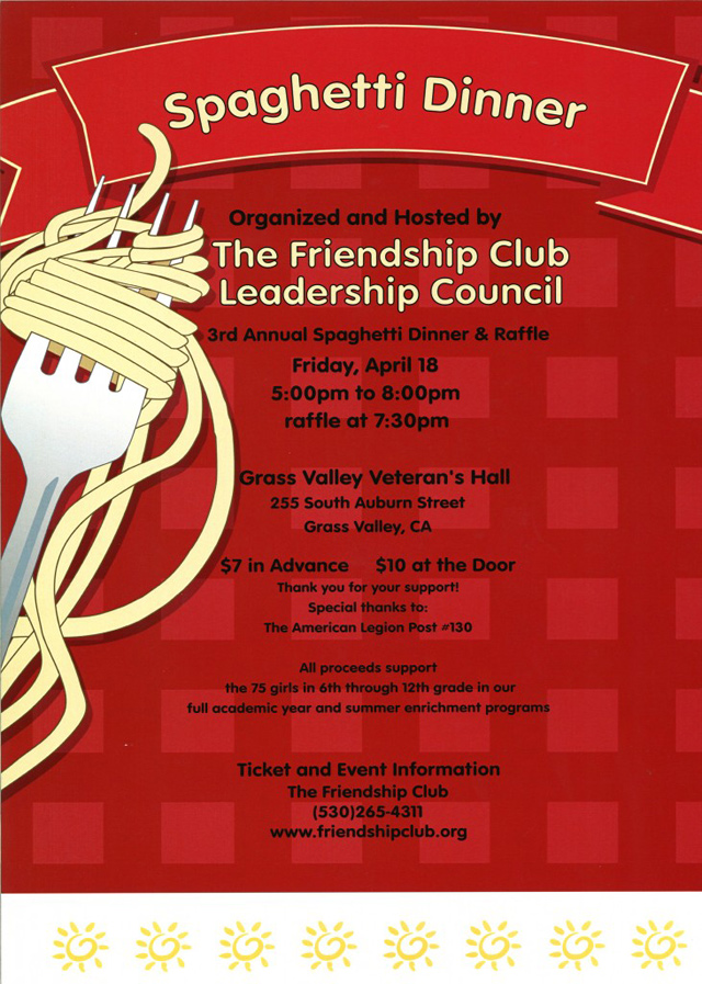 Spaghetti Dinner Flyer Pictures to Pin PinsDaddy – Dinner Flyer