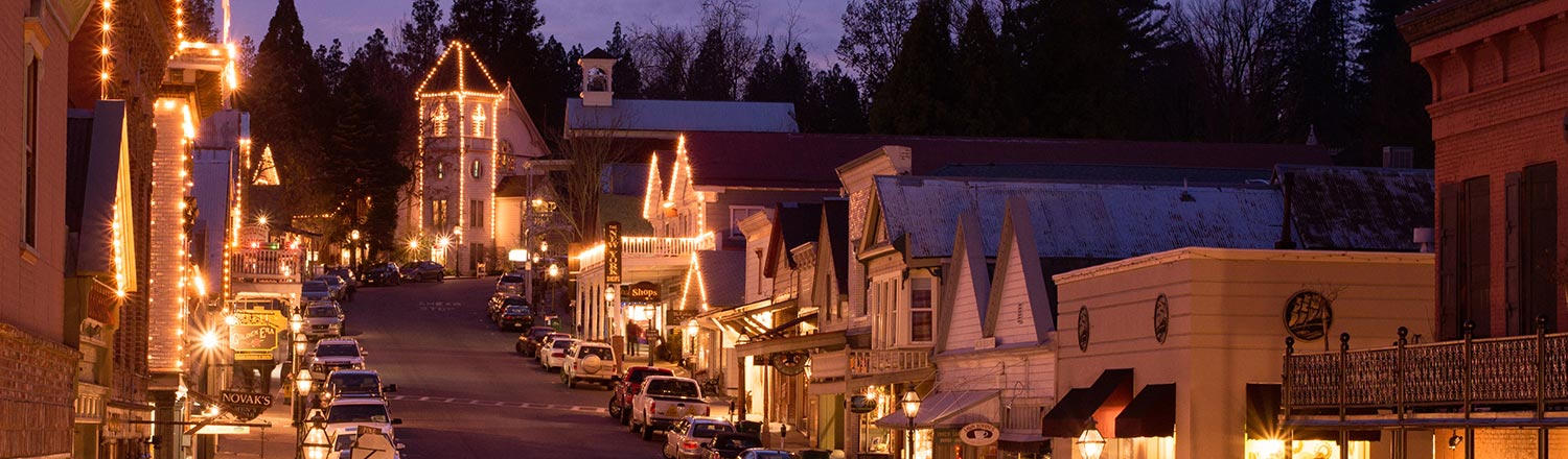 Nevada City Scenery