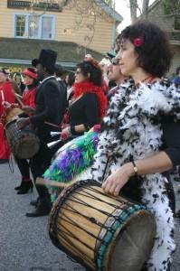 Mardi Gras Drummers 2005