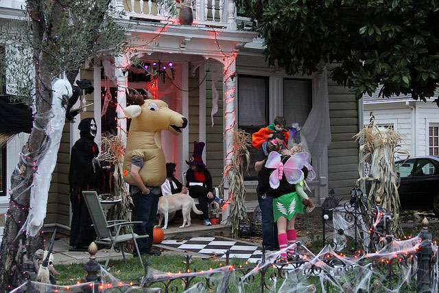 Halloween in Nevada City | Nevada City California