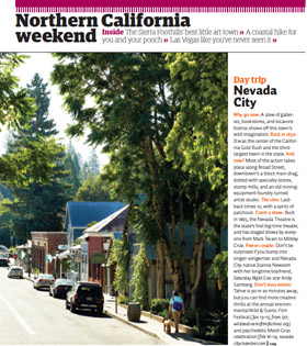 nevada city featured in sunset magazine