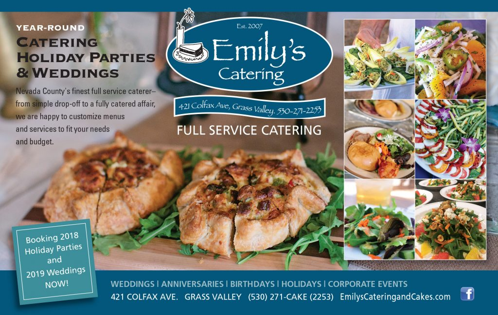 Emily S Catering Amp Cakes Nevada City California