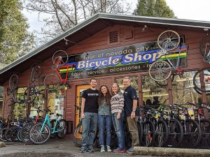 Tour of Nevada City Bicycle Shop