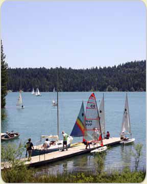 Camping campgrounds nevada city california for Scotts flat lake fishing