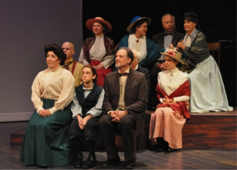 """a review of the play our town by thornton wilder The most produced play written by an american has to be thornton wilder's """"our town"""" professional companies, community theater groups, high schools and play-reading clubs have done it without exception."""