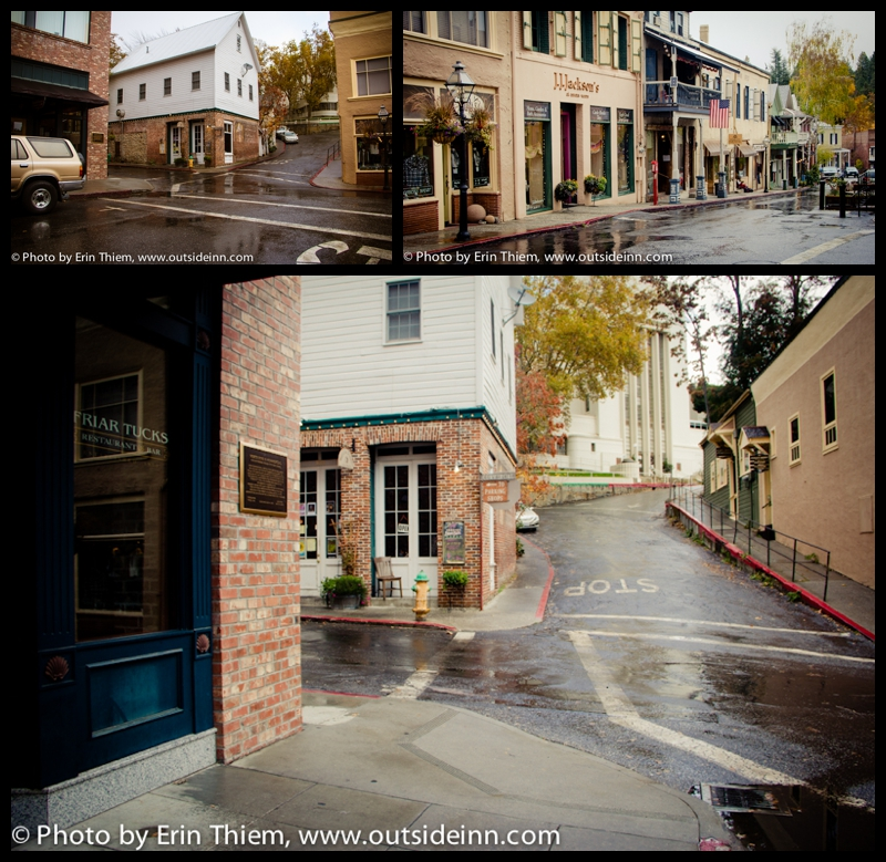 Downtown Nevada City location from The Christmas Card