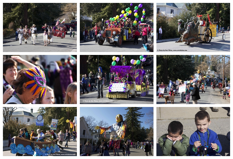 Nevada City Mardi Gras Celebrations
