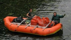 foote's crossing on raft