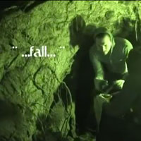 """Fall"" is how a 19th century Chinese laborer explains his cause of  death to Travel Channel investigators in a Nevada City tunnel."