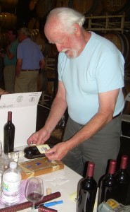 Winery David Nurse Labeling