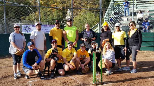 Nevada City Yellow Jacket Softball Team