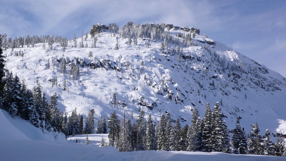 donner summit backcountry snowboarding skiing