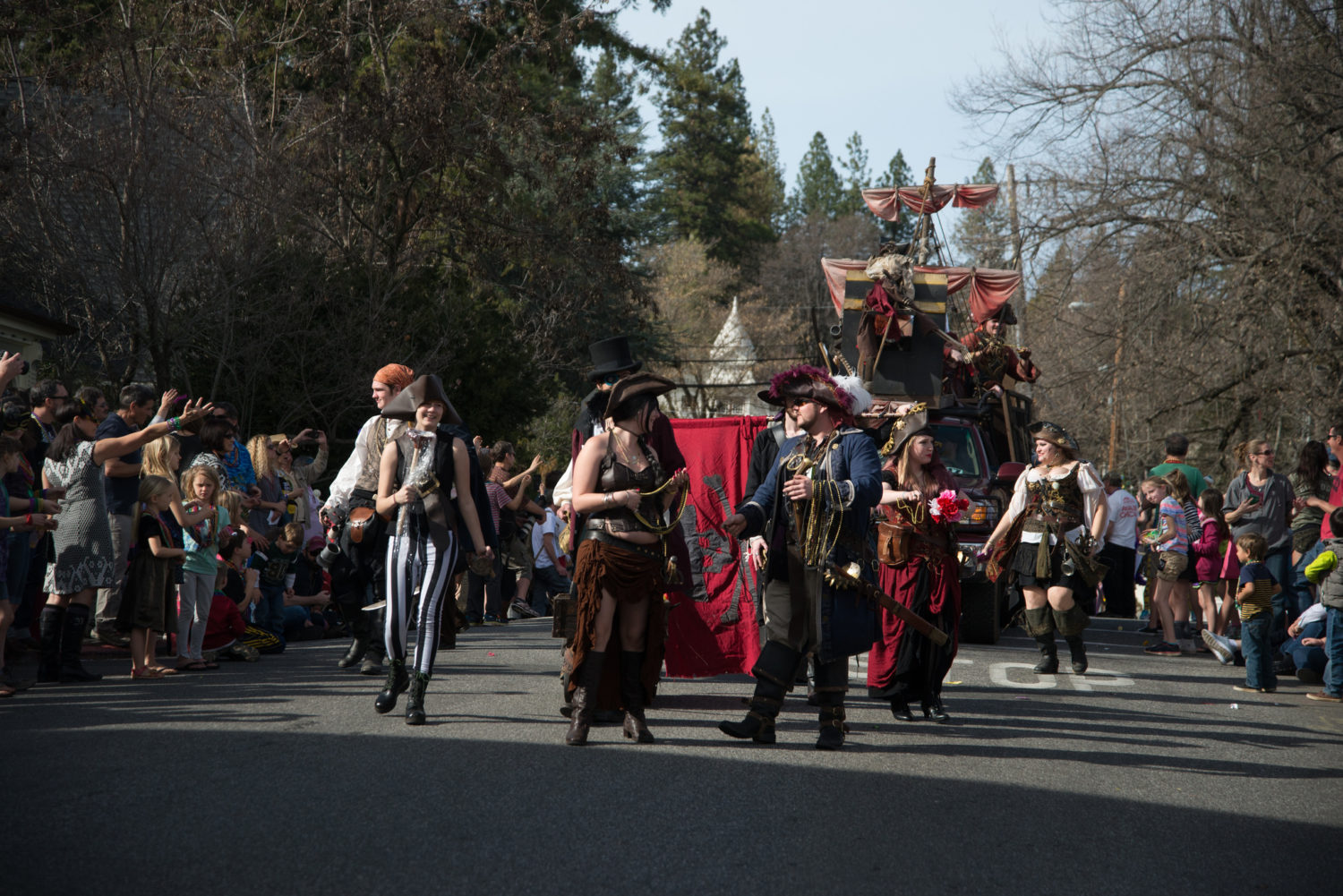 2018 Nevada City Mardi Gras Celebration