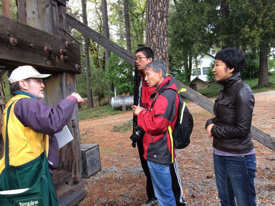 The Chinese Delegation Visit Nevada City California
