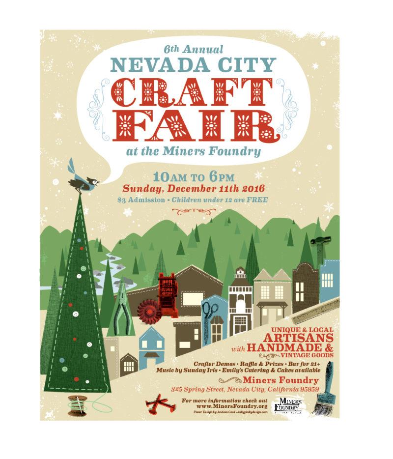 Nevada City Winter Craft Fair