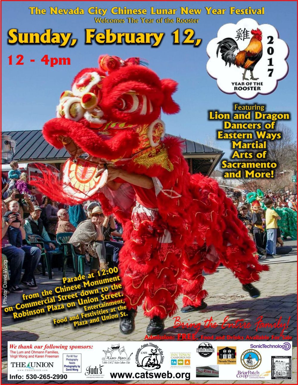 The Nevada City Chinese Lunar New Year Festival | Nevada City ...