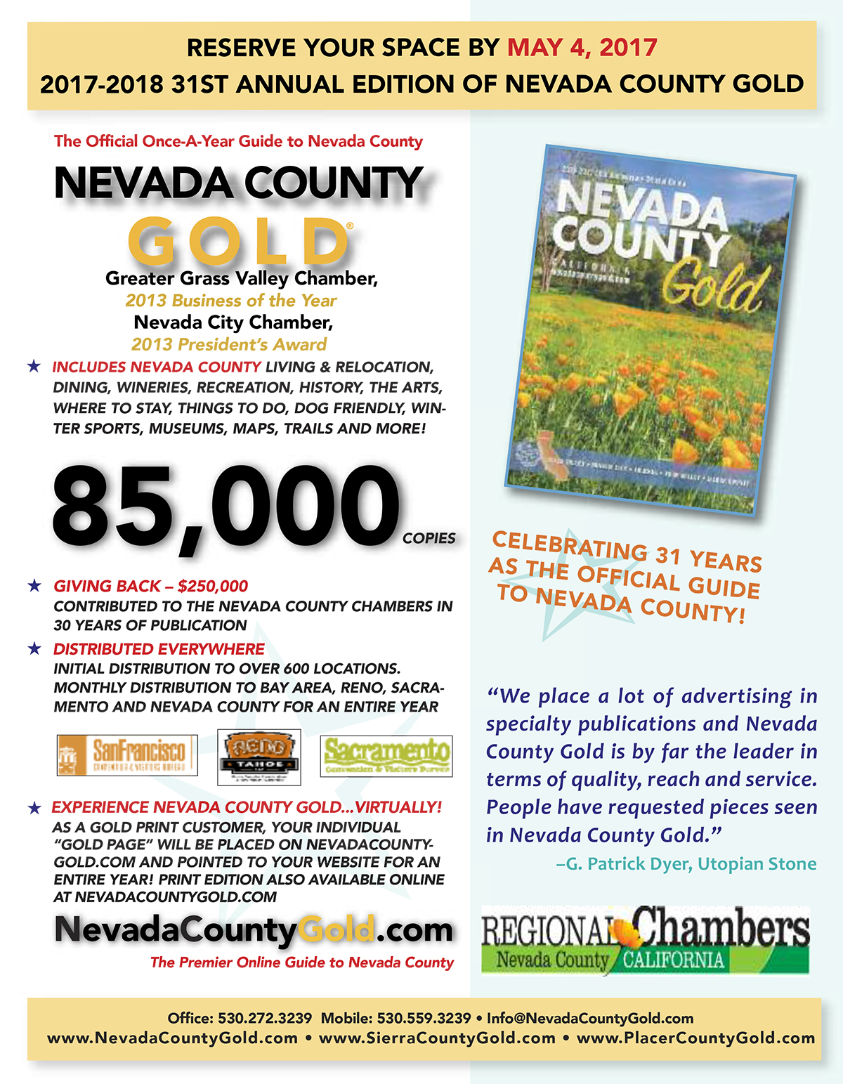 2017-2018 Annual Edition of Nevada County Gold - Last Chance ...