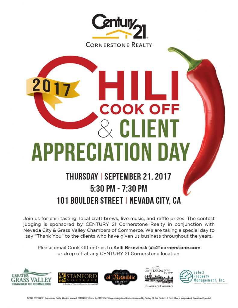 2017 chili cook off client appreciation day at century 21 come sample chili local craft brews enjoy live music enter to win raffle prizes xflitez Choice Image