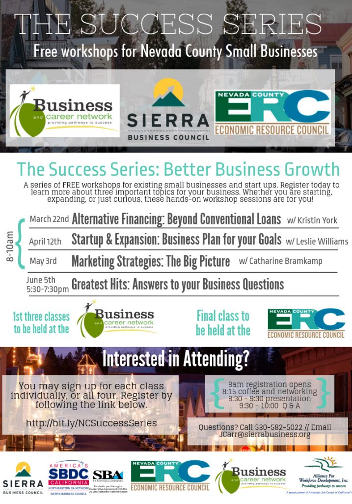 Want To Get Better at Business - Expand, Grow? | Nevada City California