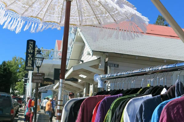 nevada city village market day