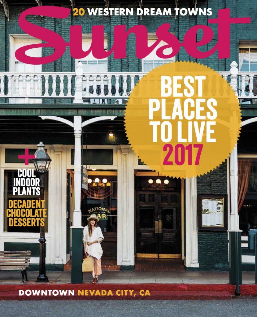 sunset magazine - nevada city best places to live