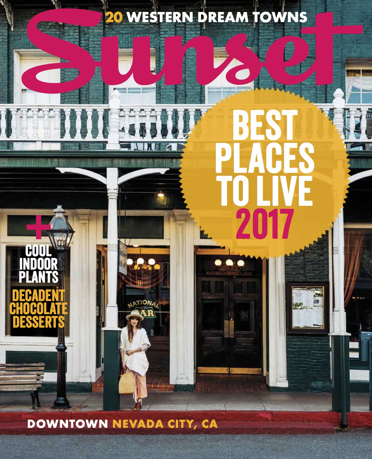 sunset magazine - nevada city best places to live