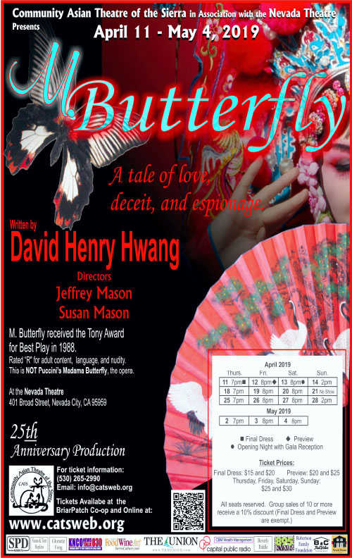 CATS' 25th Anniversary Production, M  Butterfly - Last Week