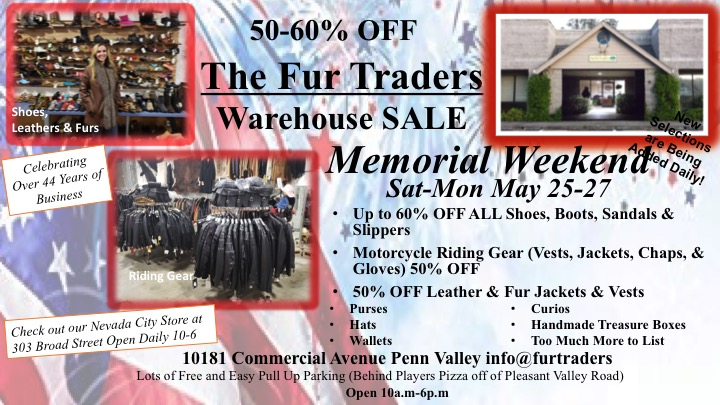 79544a72e521 Don t Forget to Stop by The Fur Traders Store over 40 Years in Beautiful
