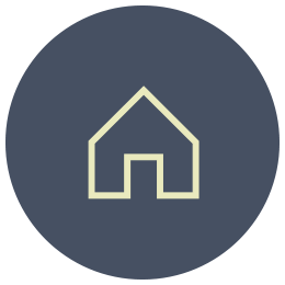 shelter in place icon